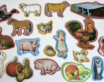 Farm Felt Board, Farm Flannel Board Story, Animal Felt Board, Preschool Felt, Teachers Resources, Homeschool Felt
