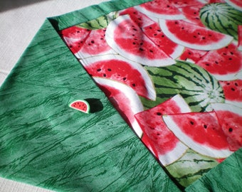 Summer Watermelon Table Runner