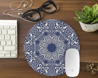 Mouse Pad, Mandala Mousepad, Mouse Mat BOHEMIAN Mouse Pad Office Mousemat Rectangular Mousemat Mousepad mandala design mouse pad - T80216