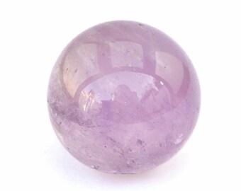 Amethyst Crystal Sphere Stone (24mm x 24mm x 24mm)