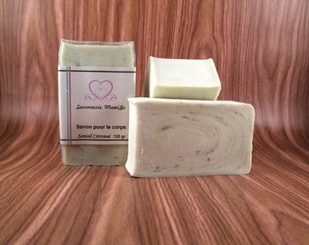 Lemony sandalwood SOAP