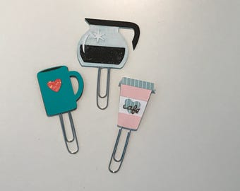 Coffee Paper Clips