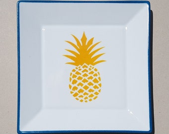 Tidy pineapple yellow, turquoise NET