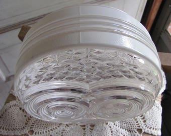Glass ceiling globe