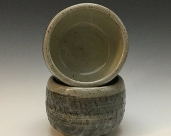 Tea Bowl - Cup Set - Ceramic Barware - Old Fashioned Cup - Lowball - Rocks Cup - Handmade Pottery