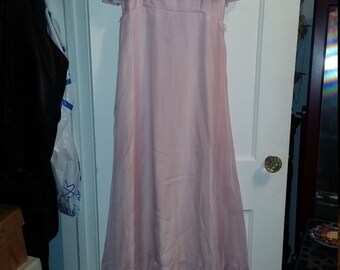 Vintage 70's Formal, Prom, Bridesmaid Maxi Dress Lavender