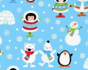 Eskimo Pie Flannel Fabric