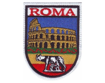 Rome Italy (B) Embroidered Patch