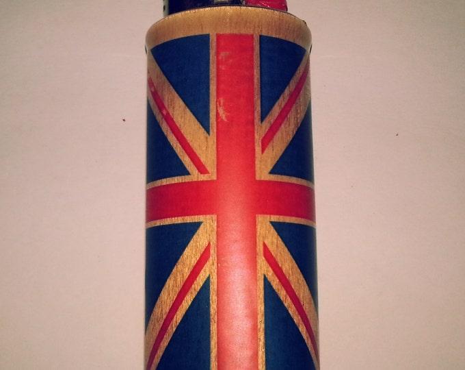 UK Flag United Kingdom Lighter Case, United States Lighter Holder, Lighter Sleeve