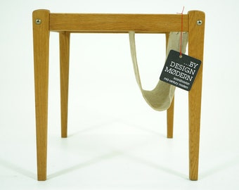 310-238 Oak Side Table Danish Mid Century Modern