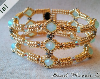 Sirat Bracelet Tutorial: PDF and Video instructions