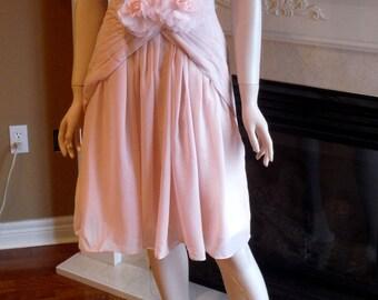 Blush pink bridesmaid dress, Blush Bridesmaid dress, Blush dress, Pink dress