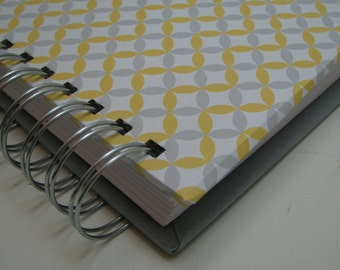 Shower Guest Book - Address Guest Book - Bride to Be - Replacement Labels - Guest Book Alternative - Message to Bride - Yellow Gray Cover