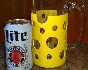 Cheese Head Beer Mug