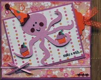 Handmade Children's Birthday Easel Card
