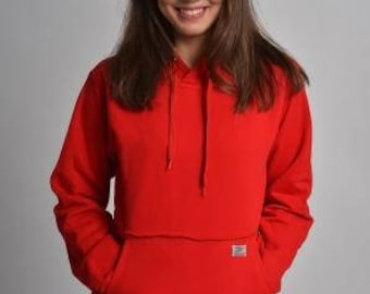 Hoodie with integrated phone Pocket S-XXL