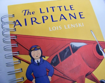 Little Airplane book journal diary planner altered book Lois Lenski classic