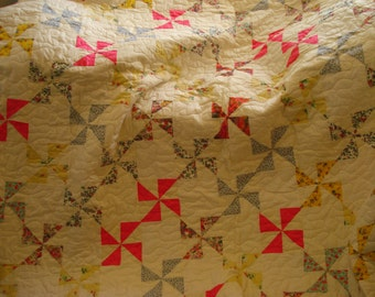 Breezy Windmills Quilt