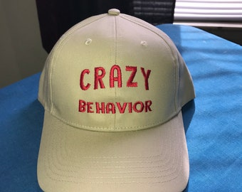 Crazy Behavior Hat