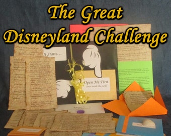 Disneyland Hunt Adventure - The Great Disneyland Challenge