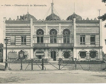 Observatoire de Montsouris,  Paris, France,   circa 1915 Unused Postcard. Historic Building