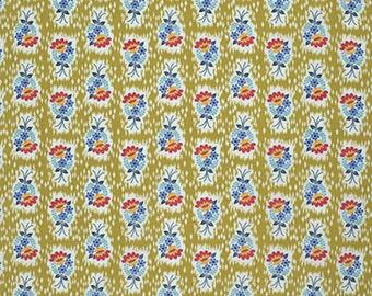 """PWAH086.PRAIR Honor Roll Anna Maria Horner Hand Picked Prairie Quilting 18"""" BTHY Rowan Westminster Half Yard 18"""" Quilt Fabric HY Floral"""