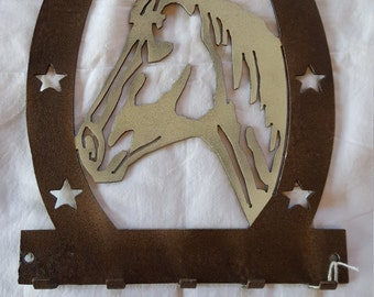 Horseshoe Key Holder