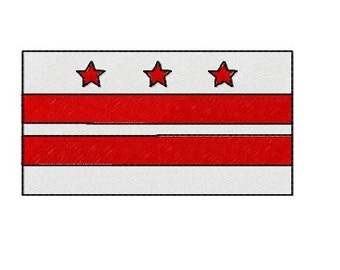 Buy 1 Take 1 Embroidery Design, Columbia Flag Machine Embroidery Design, Instant Download, Fits 4x4 Hoop Size, 9 Formats