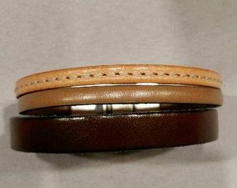 Bracelet Amaury brown tones