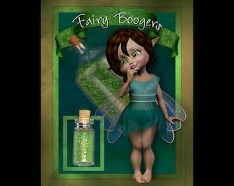 Fairy Boogers Fine Body & Face Glitter Novelty