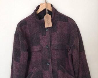Vintage plaid wool Woolrich jacket