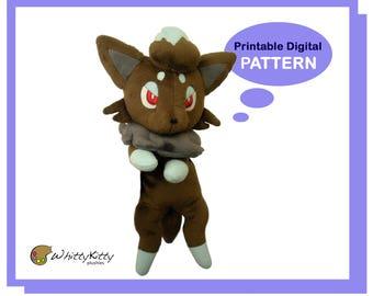 PATTERN - Anime Fox Plushie