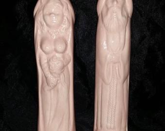 MATURE XXX Penis Shot Glass Saint Peter & Bride Bachelor Bachelorette Naughty Gift Drinking Party Liquid Dishwasher Safe Erotic Shot Glasses