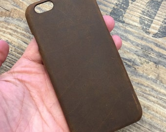 iPhone 8 Case iPhone 7 Case iPhone 6 Case iPhone 5 Case Leather iPhone Case Handmade Snap On Case