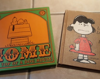 1960s peanuts Snoopy Charlie Brown Lucy children's books