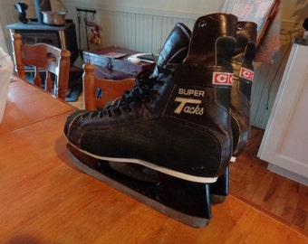 CCM Super Tacks late 1970s very good condition men's size 9.5