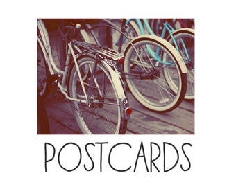 Postcards - Single Card - Blank Cards - Revolution - Bike Print - Stationary - Bicycle Photograph - Summer Art - Bicycle Art - Bike Art