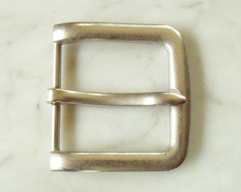 Belt Buckle 4 cm, old silver-1