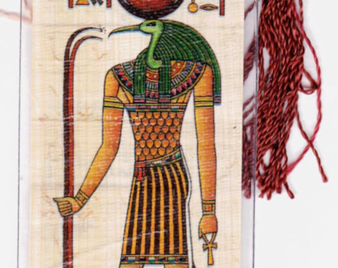 Thoth-God of the moon,magic and writing! Egyptian Papyrus Bookmark. Great gift for every member of your family. Graduations, birthdays!
