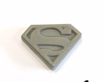 Superman Goat Milk Soap - Island Coconut