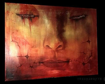 Dream Scars Painting by godspRosyko - Dream, Scars