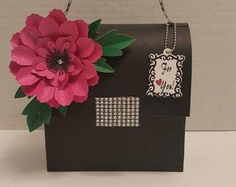 XL paper purse, paper handbag