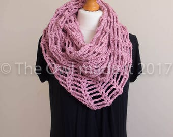 Spring scarf | Women infinity scarf| Ladies scarf | Loop scarf |  Gift for women| Gift for her UK seller | Ready to ship