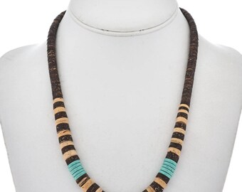 Turquoise Shell Navajo Necklace His or Hers Southwest Choker
