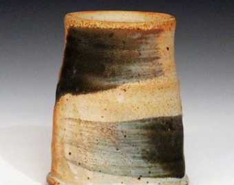 Abstract Oval Vase MK39