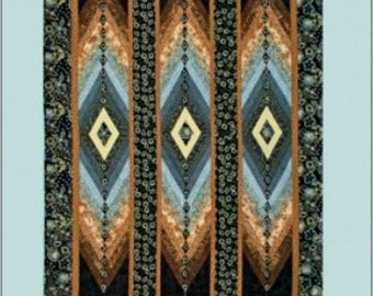 DIAMONDS ARE FOREVER : Quilted Jewel Series - by Sandi Irish
