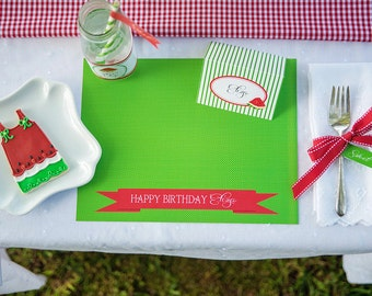 Watermelon Picnic Collection: Printable Placemats
