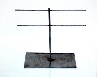Jewelry Display Stand Metal Natural Steel - LINEMAN Mini Ladder
