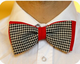 FREE SHIPPING WORLDWIDE, bow tie, made in armenia, armenian bow tie, man's bowtie, self tie bow tie  classic bow tie