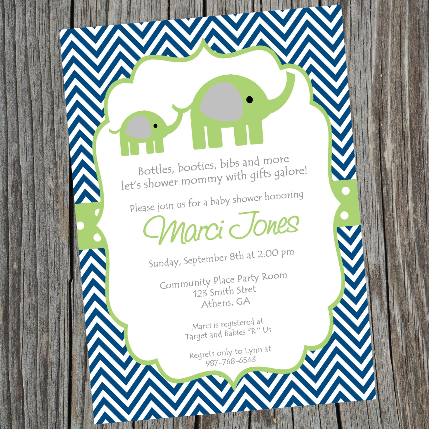 per little baby elephant collections pink ohcreativeone il shower from invitations and fullxfull of brown original peanut set llc girl products personalized